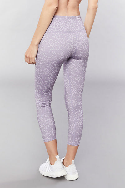 Kensington Tight - Lavendar Leopard