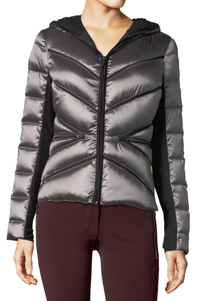 Mesh Inset Hooded Jacket