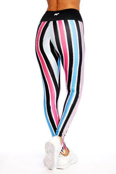Miami Stripe Long Legging