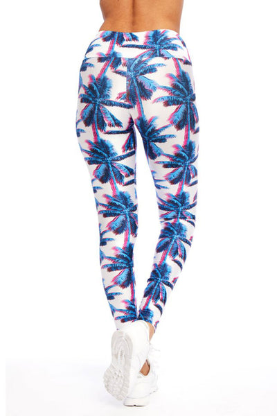 Midnight Palms Long Legging