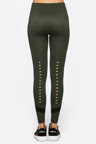Alala Niche Tight - Army - Sculptique