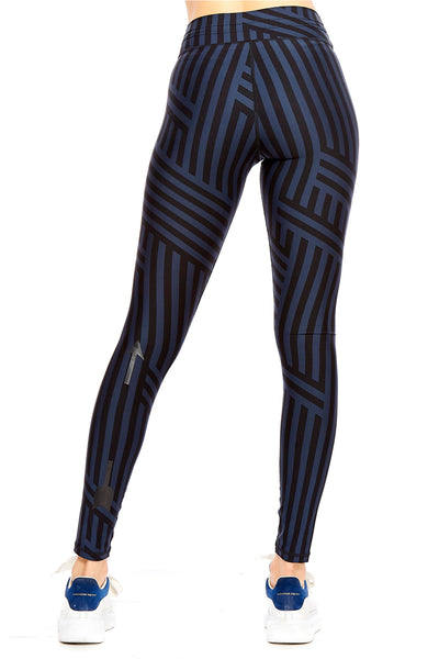 Night Speed Stripe Yoga Pant