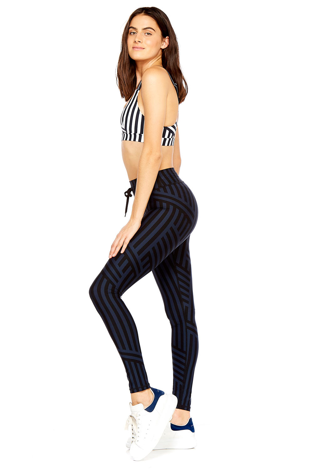 178767facbd The Upside Night Speed Stripe Yoga Pant
