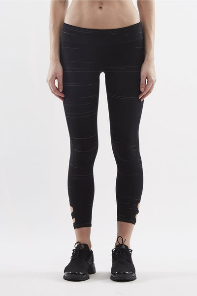 Lanston Oakley Block Ankle Legging - Sculptique