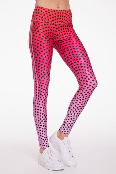 Ombre Hearts Long Legging