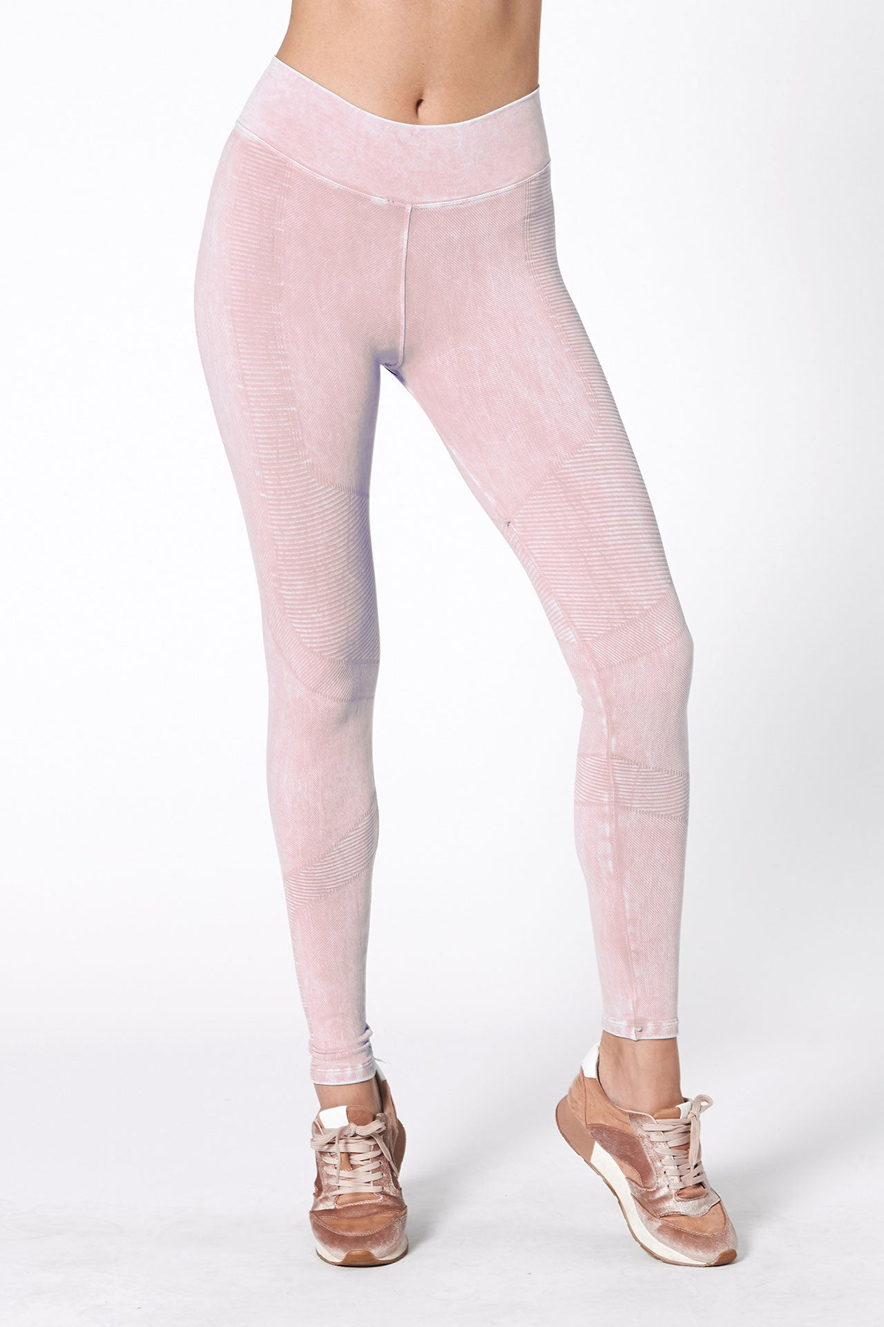 One by One Legging - Sheer Pink