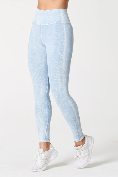 One by One Legging - Sky High Wash