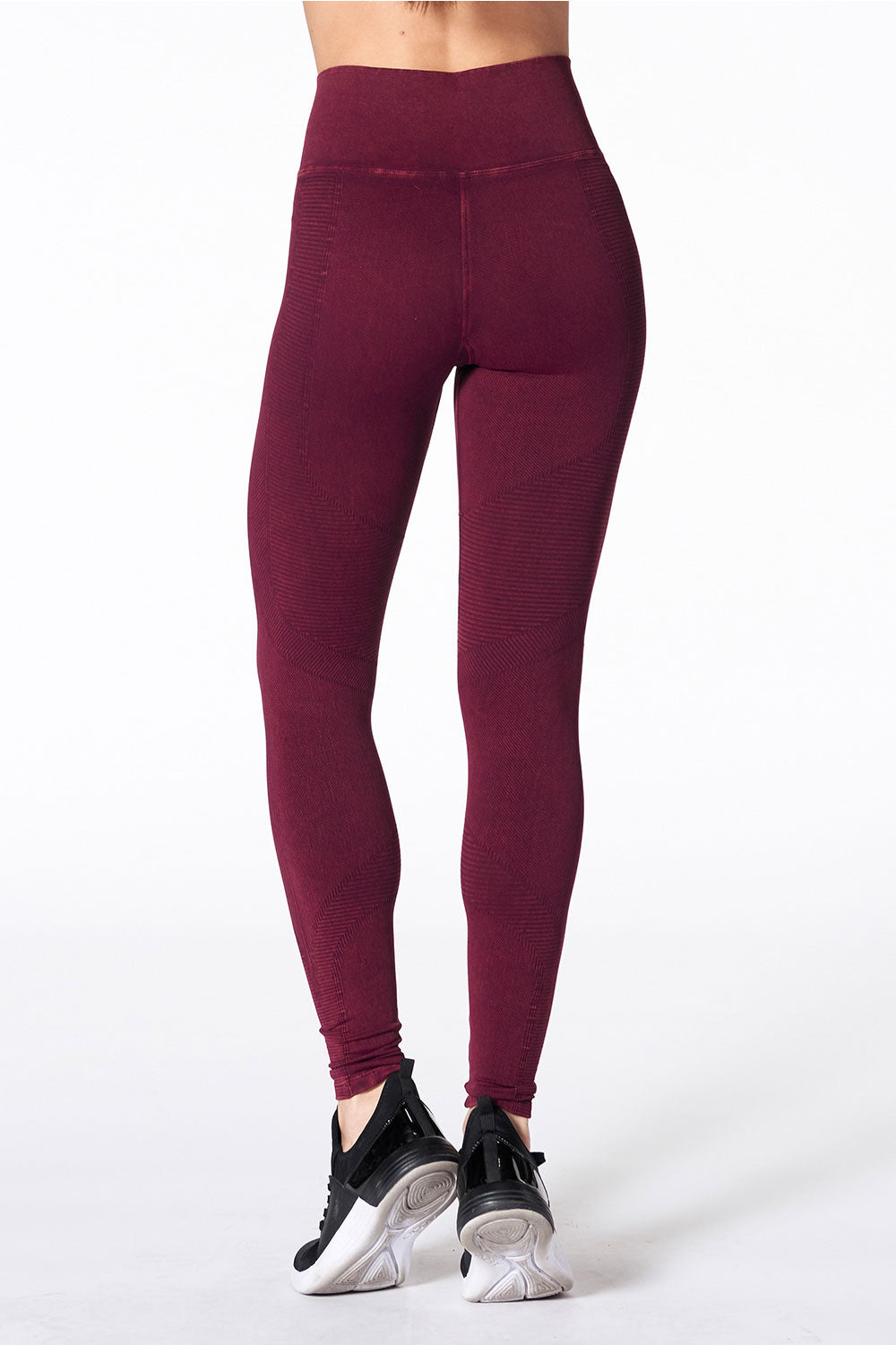 One by One Legging - Violet Wine