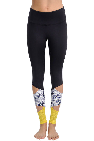 Peak Legging - Marble