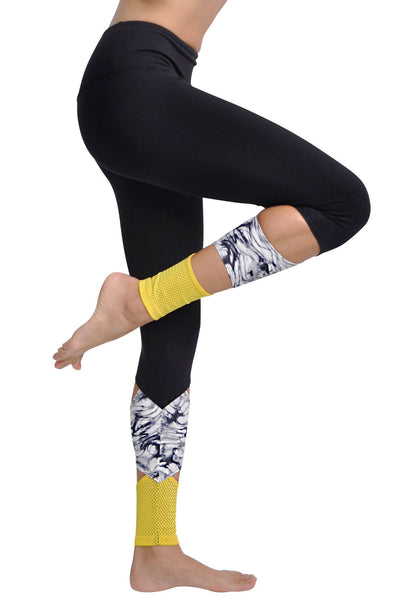 Jala Peak Legging - Marble - Sculptique