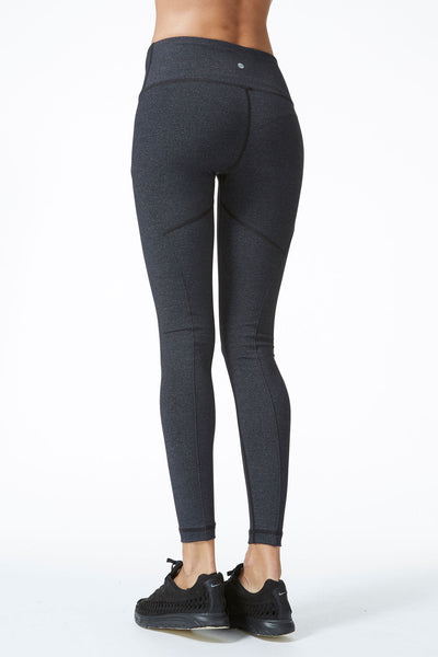Pose Legging - Heather Charcoal