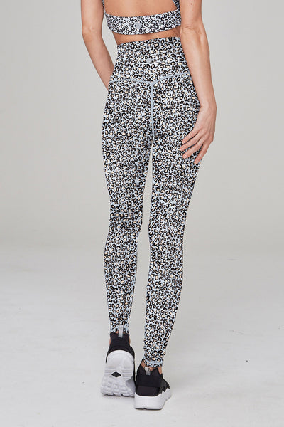 Varley Preston Tight - Sky Leopard - Sculptique