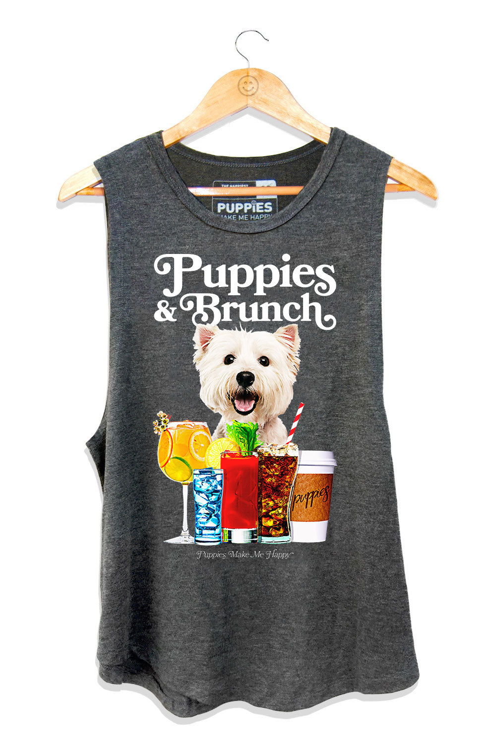 Puppies and Brunch Sleeveless