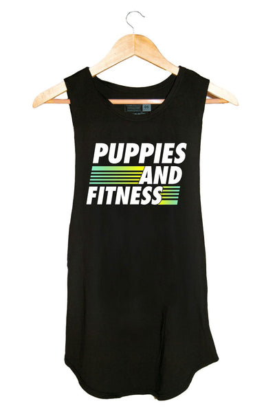 Puppies Sport Logo Sleeveless