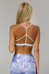 Pyramid Bra - White