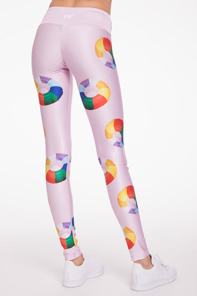 Rainbow Floaties Long Legging