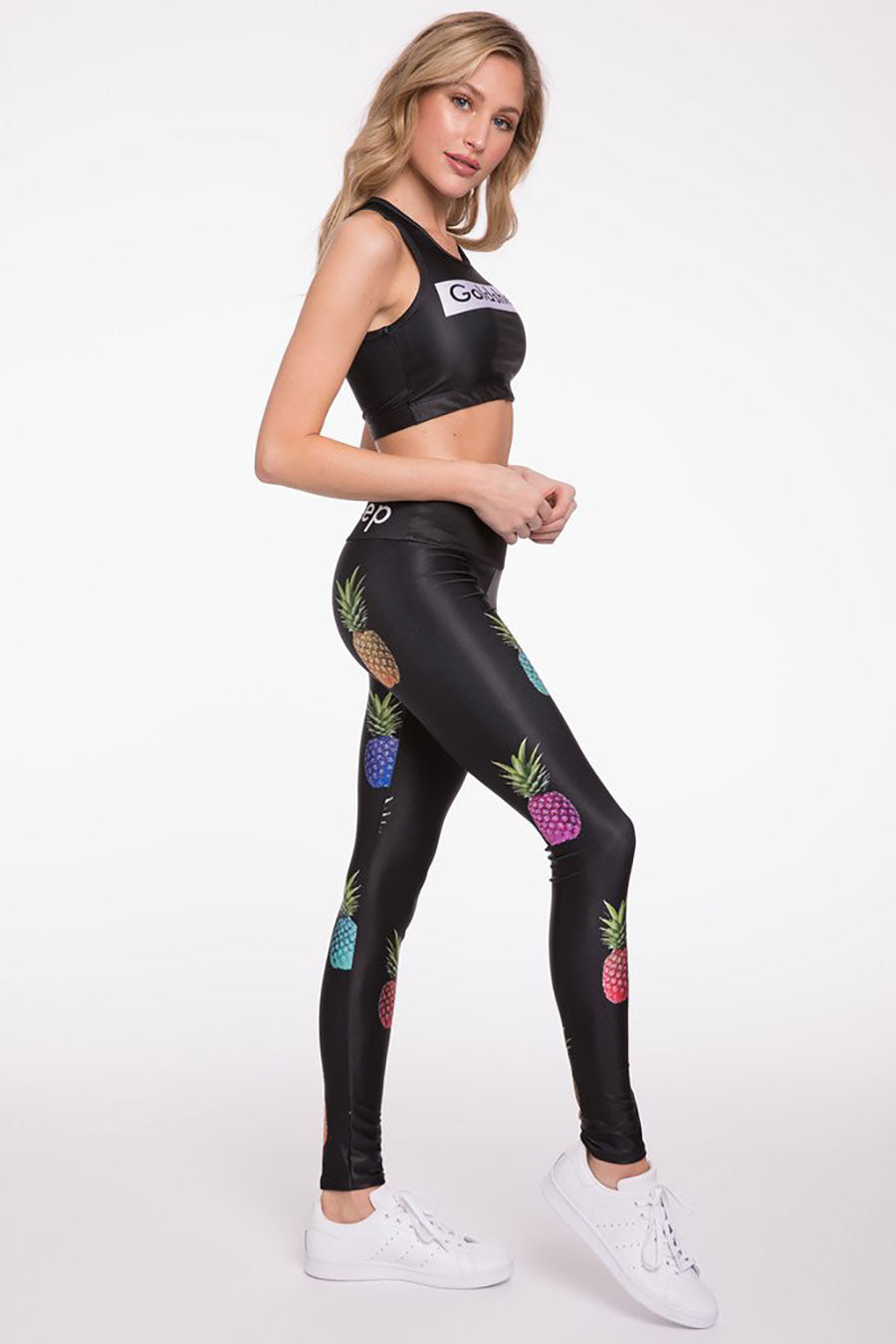 Rainbow Pineapple Long Legging