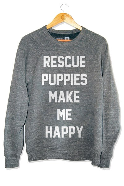 Rescue Puppies Crew Neck Sweatshirt