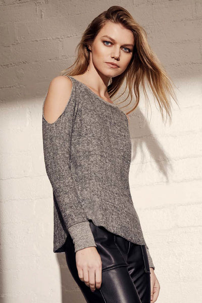 Reverse Cutout Pullover