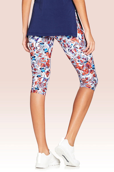 Vie Active Riley Capri - Chrysalis Butterfly - Sculptique