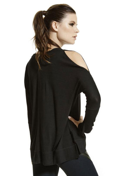 Serenity Peek A Boo Shoulder Top