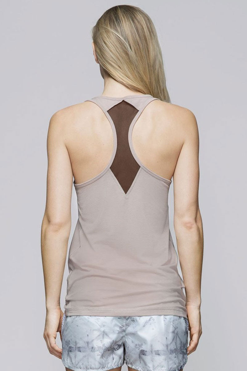 Alala Signature Tank - Sand - Sculptique