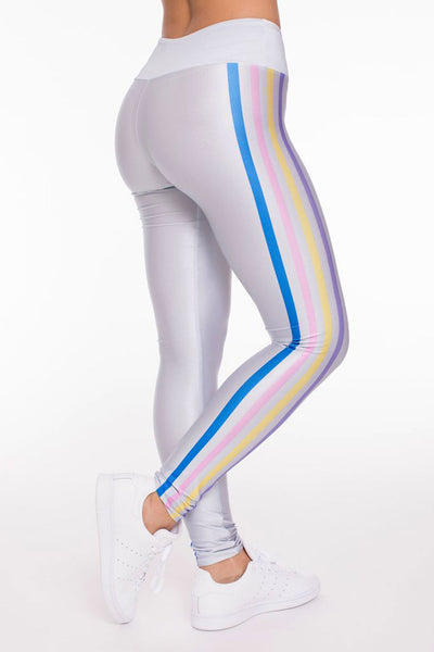 Goldsheep Snow Bunny Stripes Long Legging - Sculptique