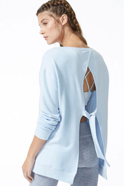 Soothe Tie Back Pullover