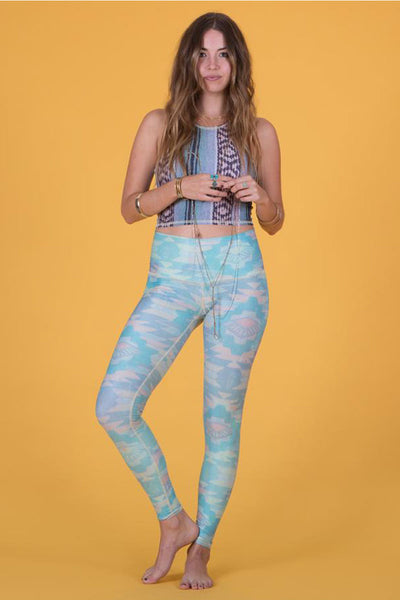 Southern Cross Blue Hot Pant