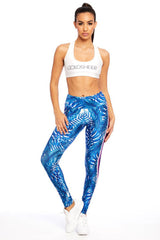 Sporty Palm Long Legging