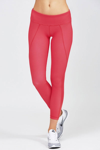 Stella 7/8 Legging - Rouge