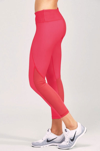 Noli Yoga Stella 7/8 Legging - Rouge - Sculptique