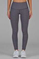 Sultry Legging - Shark/White Stripe