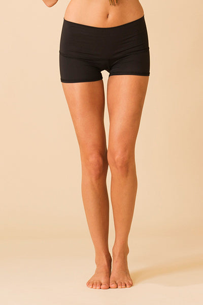 Solid Black Sun Short