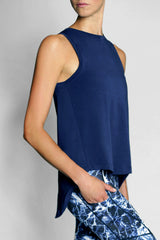 Vie Active Sydney Tank - Ink Blue - Sculptique