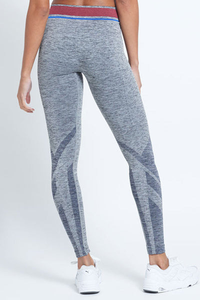 LNDR Tempo Leggings - Grey Marled - Sculptique