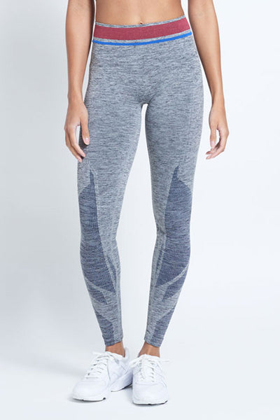Tempo Leggings - Grey Marled
