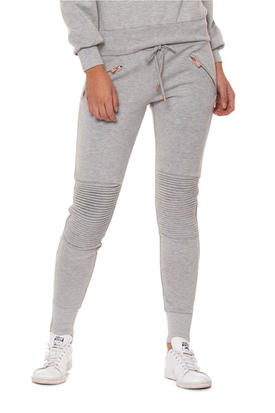 The Fast Lane Pant - Light Grey