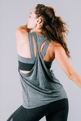 Vie Active Tina Racerback Tank - Sculptique