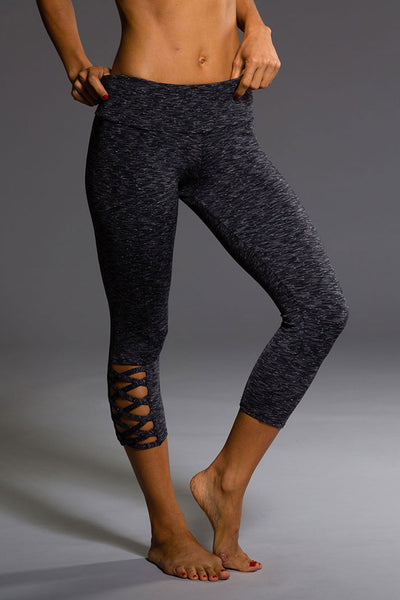 Weave Capri - Heather Grey