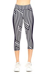 White Speed Stripe NYC Pant
