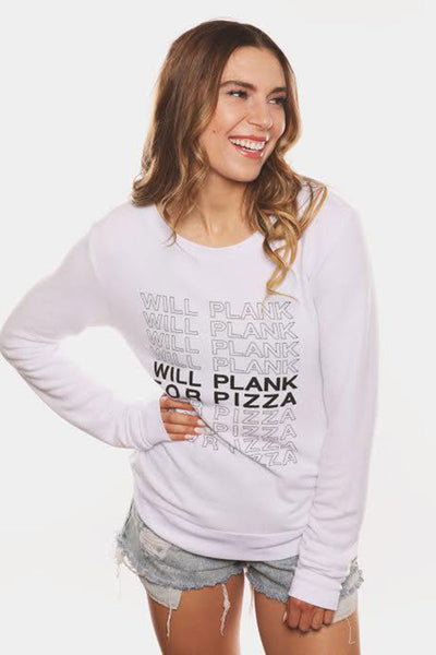 Will Plank For Pizza Cozy