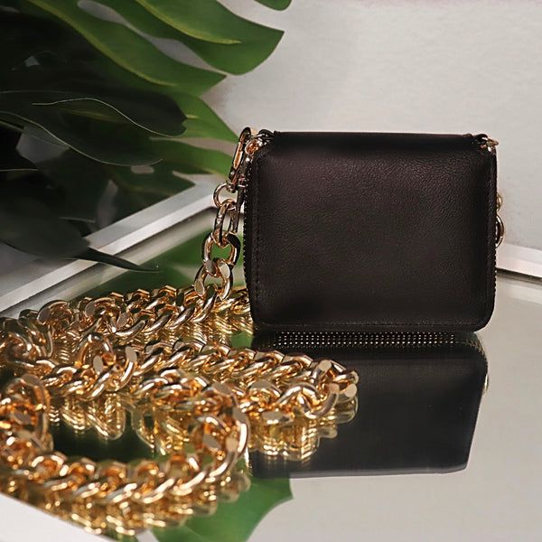 Mini Black Chain Bag