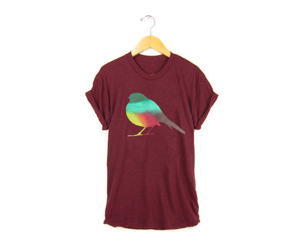 Autumn Robin T-shirt by two string jane