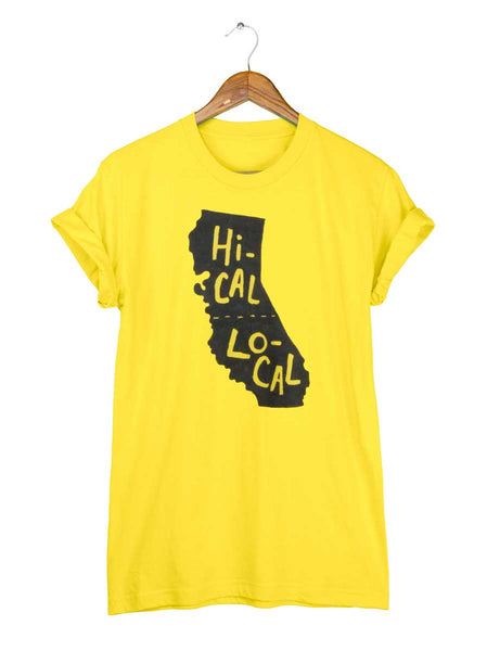 California T-shirt - Hi-Cal Lo-Cal