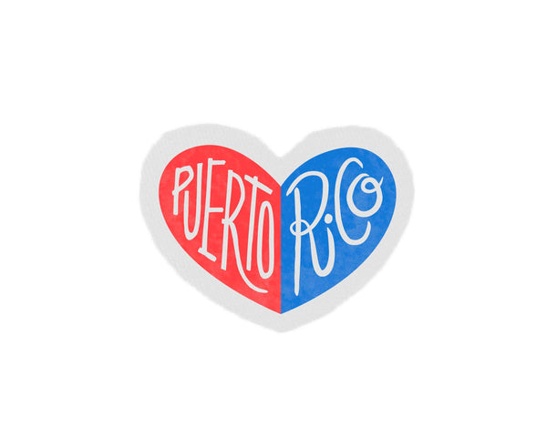 Puerto Rico Heart Patch by two string jane