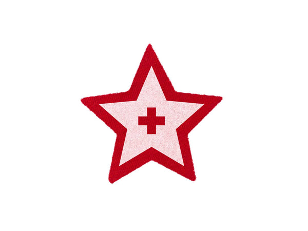 Texas Aid Red Star Patch