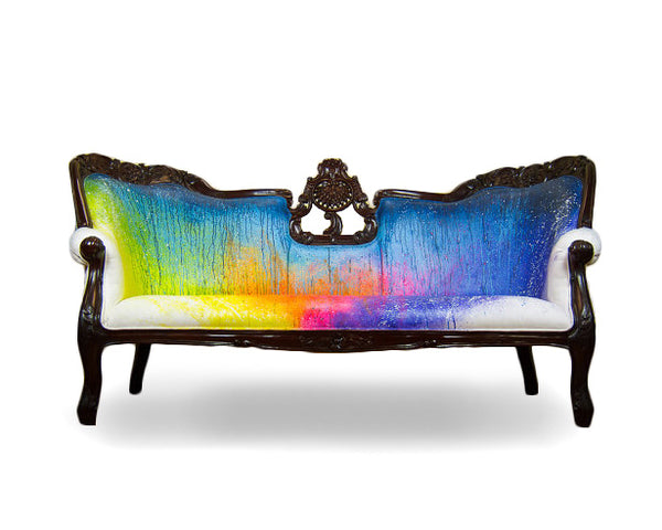 Splash Dyed Sofa
