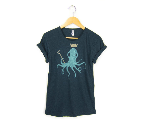 King Octopus T-shirt by two string jane