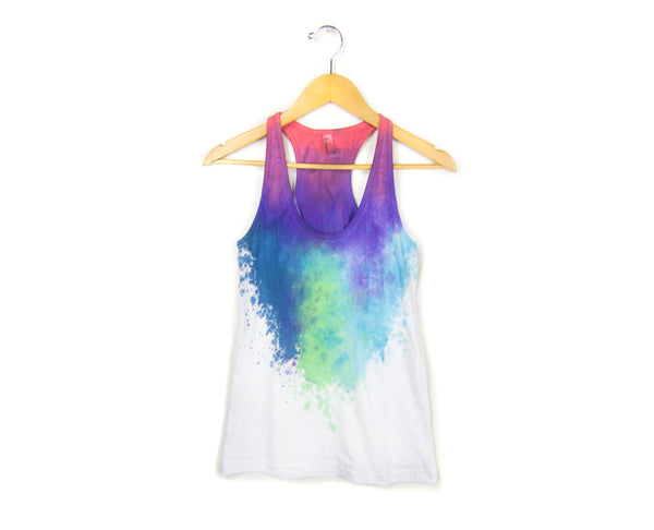 Berry Nebula Tank by two string jane